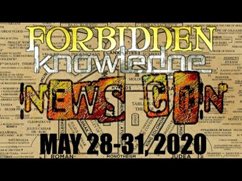 Live Q & A/Discussion with Charlie Robinson and Cory Hughes, Forbidden Knowledge News Con