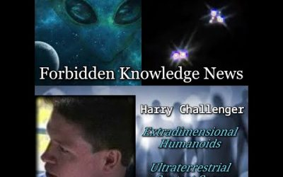 Extradimensional Humanoids/Ultraterrestrial Contact/Pictures of Entities! with Harry Challenger