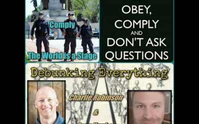 Obey, Comply/The World is a Stage with Charlie Robinson and Cory Hughes