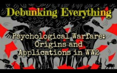 Psychological Warfare:Origins and Applications part 2