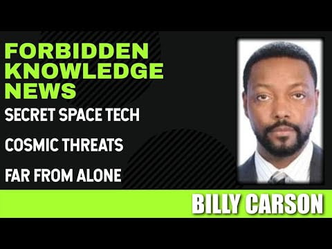 secret space tech cosmic threats far from alone with billy carson